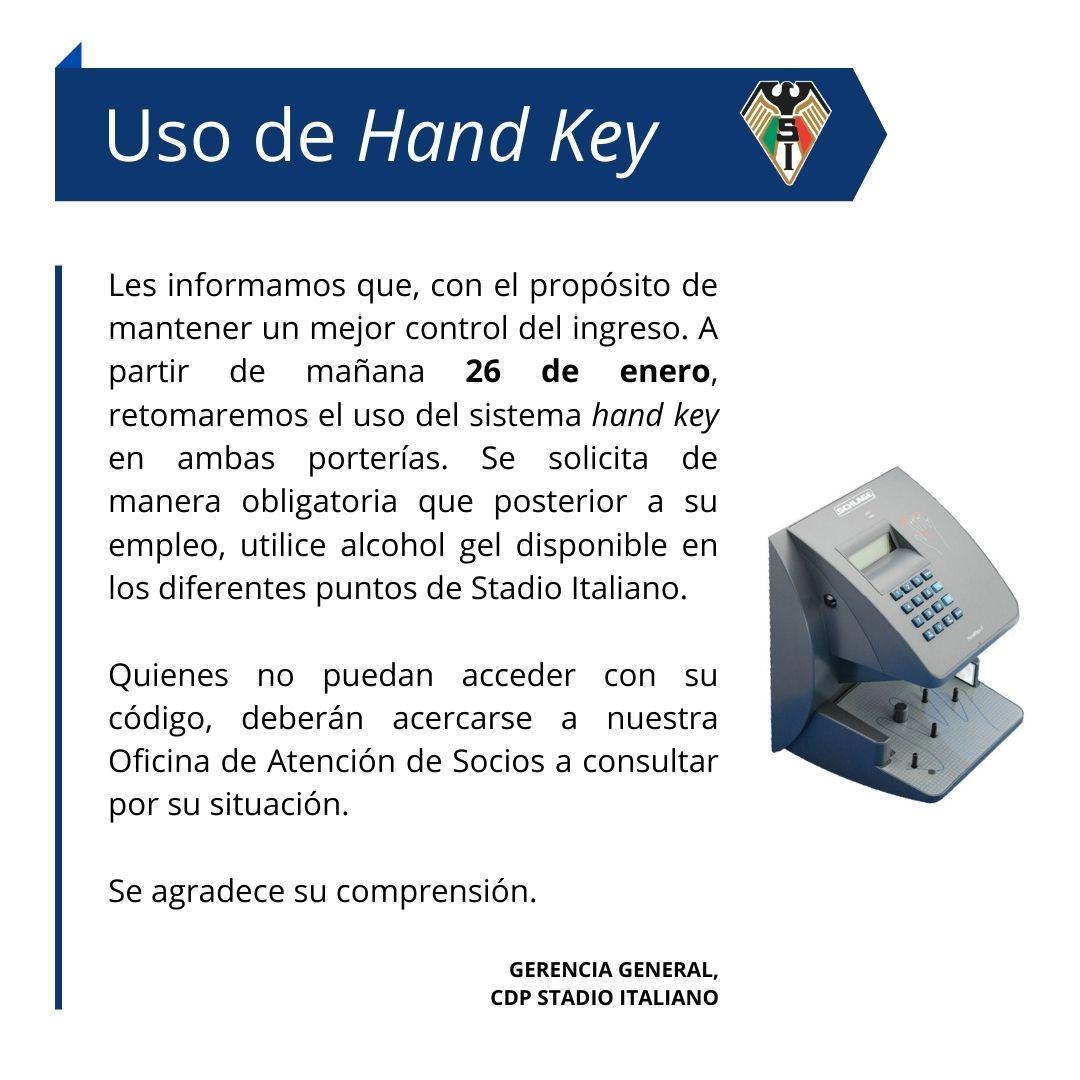 Uso de Hand Key (2)