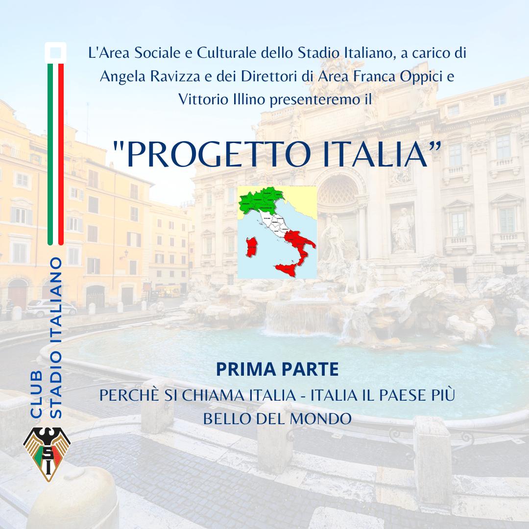 """PROGETTO ITALIA"""""""